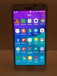 SAMSUNG GALAXY NOTE 4 32GB UNLOCKED TO ALL CARRIER *USED* PICK UP ONLY Mississauga