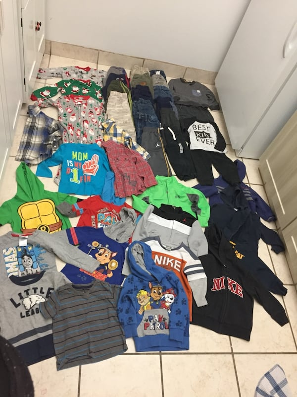 Huge 2T boy lot winter clothing  3