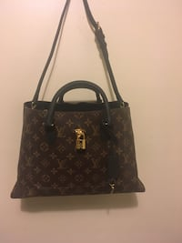 black and brown Louis Vuitton monogram tote bag Edmonton, T6K 0J8