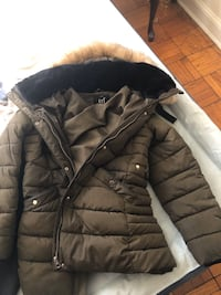 Zara woman fur coat