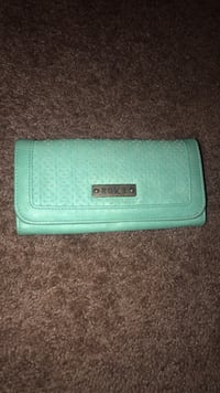 teal leather bi-fold wallet Sacramento, 95835