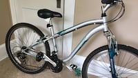white and blue hardtail mountain bike Sumter, 29150
