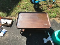 rectangular brown wooden coffee table Tiny, L0L 2T0
