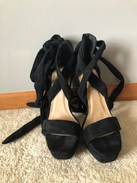 Pretty Little Thing PLT Black lace up pump Shakopee, 55379