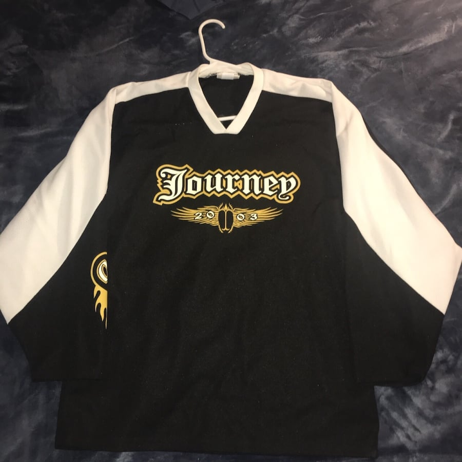 Journey the band hockey jersey