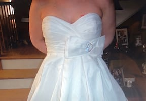 Bridal gown never been worn with tags