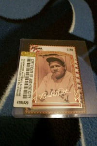 Baseball card Johnson City, 37615