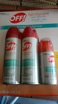 Off bug spray brand new Southington, 06489