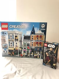 LEGO Creator Assembly Square (10255) and Star Wars Chirrut Imwe (75524) Lot Rockville, 20852