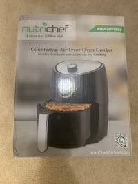 Nutrichef Countertop Air Fryer Oven Cooker Washington, 20020