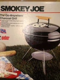 Portable charcoal grill North Brunswick Township