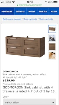 brown wooden lowboy dresser screenshot Vancouver, V5Y