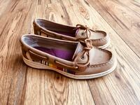 pair of brown boat shoes St Catharines, L2N 6P3