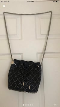 Stella McCartney Falabella Studded quilted bucket bag Mississauga, L4W 2Z5