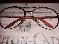 Gold-plated Cartier glasses