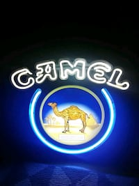Camel neon sign Worcester, 01603