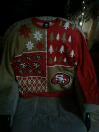 Ugly christmas Sweater nfl san Francisco brand new