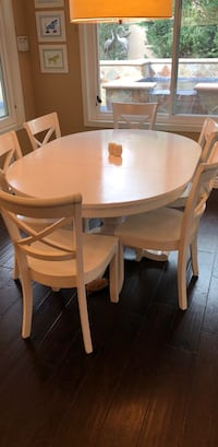 Crate & Barrel Table & 6 Chairs Tustin, 92782