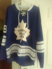 blue and white Toronto Maple Leafs jersey Brampton, L6V 1V5