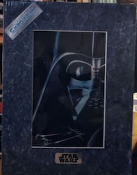 Star Wars chroma art 1995.  A true numbered, limited work of art that IS history Gray, 37615