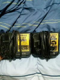 black and yellow DeWalt power tool battery charger 568 mi