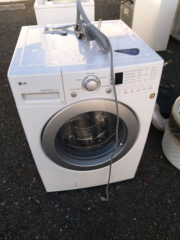 LG full size front load washer works good 6-month warranty free delive 13068401-57ce-478f-a457-d18f9d22a662