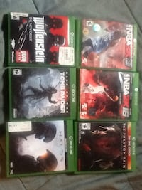 Awesome Xbox one games also 2k17 is there just no case  Bay City, 48708