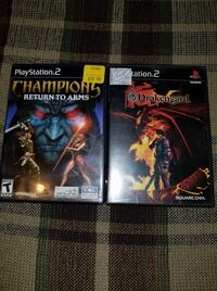 Sony PlayStation 2 Games Champions: Return to Arms and Drakengard