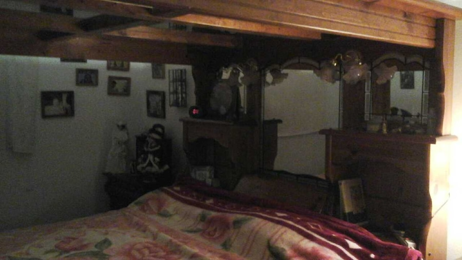 & King size water Bed canopy frame in Boise - letgo
