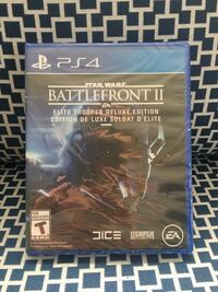 PS4 Starwars battlefront deluxe edition!! Brand new not open Brampton, L6S