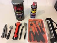 Tools: wrench, screwdriver, WD40 Las Vegas, 89101