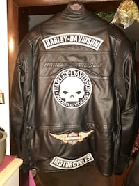 Harley Davidson Motor Cycle Jacket size 2XL Hagerstown