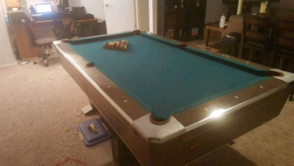 Used Fischer Cavalier VII Pool Table For Sale In St Louis Letgo - Fischer pool table