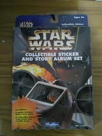 STAR WARS COLLECTIBLE STICKER AND STORY ALBUM 1996 Cleveland