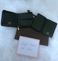 LOUIS VUITTON TAIGA LEATHER ZIPPY WALLET & CARD CASE SET   Woodbridge, 22192