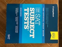 SAT Subject Tests - College Board Official Guide
