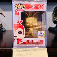 Funko POP! Gold Metallic Jollibee [#30] Chantilly