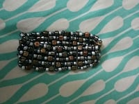 brown green and gray beaded bracelet District Heights, 20747