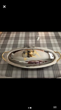 Stainless steel good quality platter for mest or fish( goldcrest ) Laval, H7V 4A7
