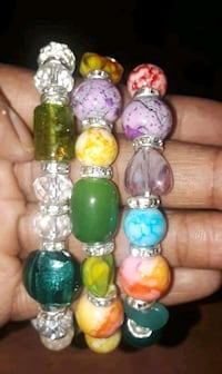 green, red, and yellow beaded bracelets Tuscaloosa, 35405