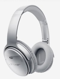 white and gray Bose wireless headphones Washington, 20037