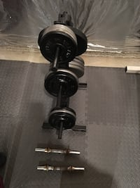 Body Solid GYM and weights with 250 pounds of weight. Purcellville, 20132