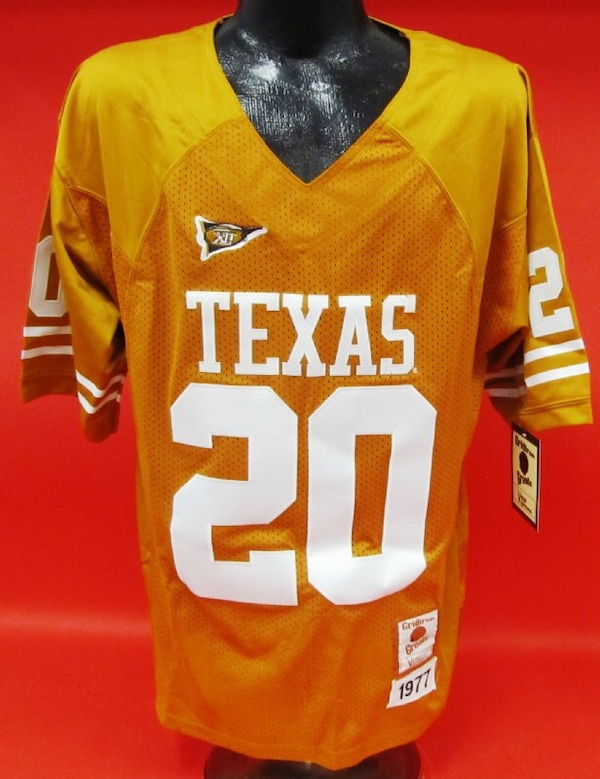 the latest 963eb 858ff Earl Campbell Texas Longhorns Jersey #20 New with tag.