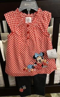 Minnie Mouse Outfit (Sz 12-18 months)