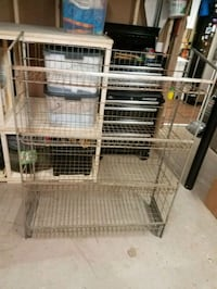 Metal Storage Rack Fairfax