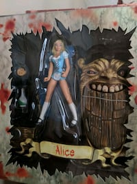 Scary tales Alice in Wonderland figurine