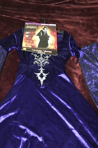 Last minute halloween costume $15 come with hat and broom stick Charlottesville, 22903