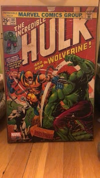 Hulk & Wolverine Comic Picture Olney, 20832