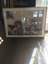 Framed photo of baby angels Tampa, 33612