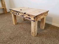 Rustic style coffee table American Fork, 84003